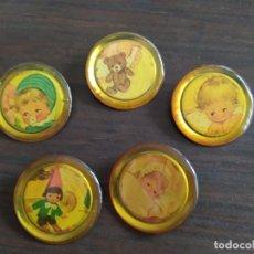 Vintage: LOTE DE PRENDEDORES ANTIGUOS. Lote 271571568