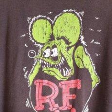 Vintage: CAMISETA ORIGINAL RAT FINK ED 'BIG DADDY' ROTH TALLA L. Lote 274556223