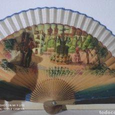 Vintage: PRECIOSOS ABANICOS VINTAGE. Lote 275794973