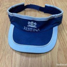 Vintage: GORRA TENIS RELOJES FESTINA. Lote 276125373