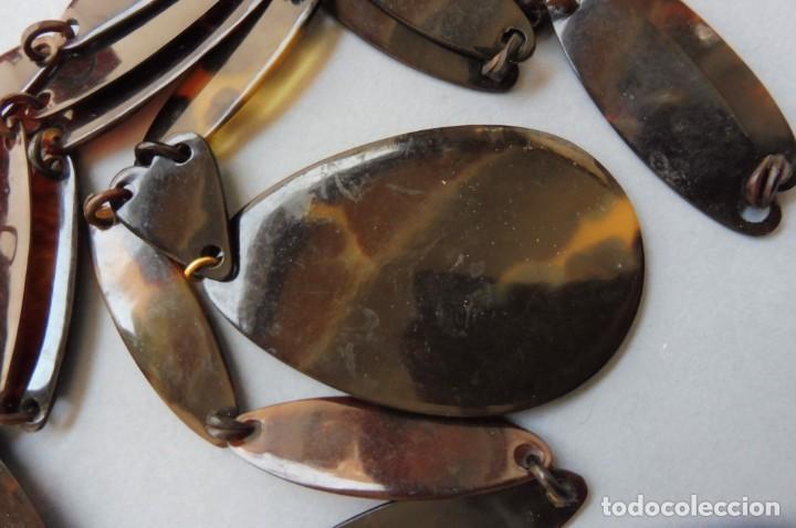 Vintage: COLLAR DE CAREY - TORTUGA - Foto 3 - 276466498