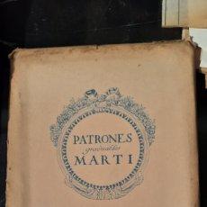 Vintage: ●PATRONES GRADUABLES VERANO 1921 SISTEMA MARTÍ. Lote 276468118