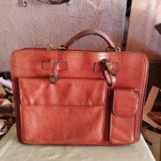 Vintage: BOLSO DE PIEL. Lote 276495743