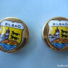 Vintage: GEMELO PARA BOTON DE BILBAO-CAJ-Nº-4. Lote 277290863