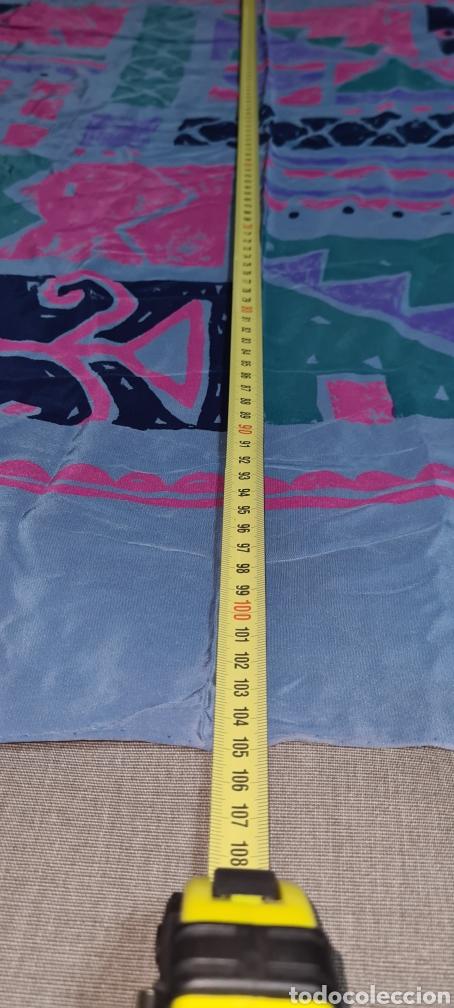 Vintage: Precioso y elegante pañuelo de seda Checkmate by Chris Arnold. - Foto 5 - 278545278