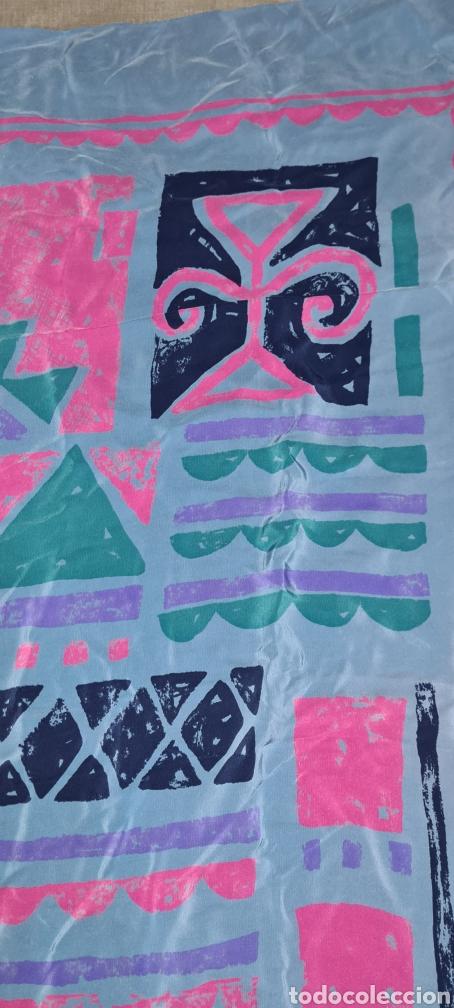 Vintage: Precioso y elegante pañuelo de seda Checkmate by Chris Arnold. - Foto 7 - 278545278