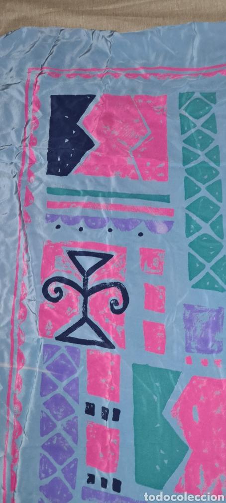 Vintage: Precioso y elegante pañuelo de seda Checkmate by Chris Arnold. - Foto 8 - 278545278
