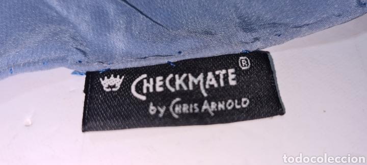 Vintage: Precioso y elegante pañuelo de seda Checkmate by Chris Arnold. - Foto 9 - 278545278