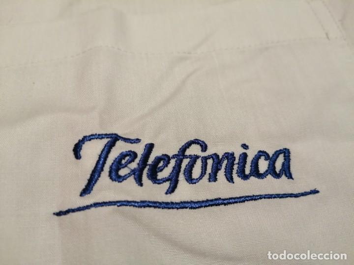 CAMISA TELEFÓNICA ESPAÑA VINTAGE (NUEVA) (Vintage - Moda - Hombre)
