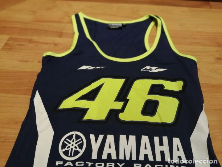 Vintage: Camiseta Yamaha Racing Team Valentino ROSSI 46 - Foto 4 - 278614508