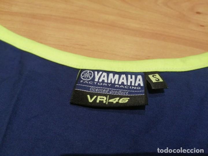 Vintage: Camiseta Yamaha Racing Team Valentino ROSSI 46 - Foto 5 - 278614508