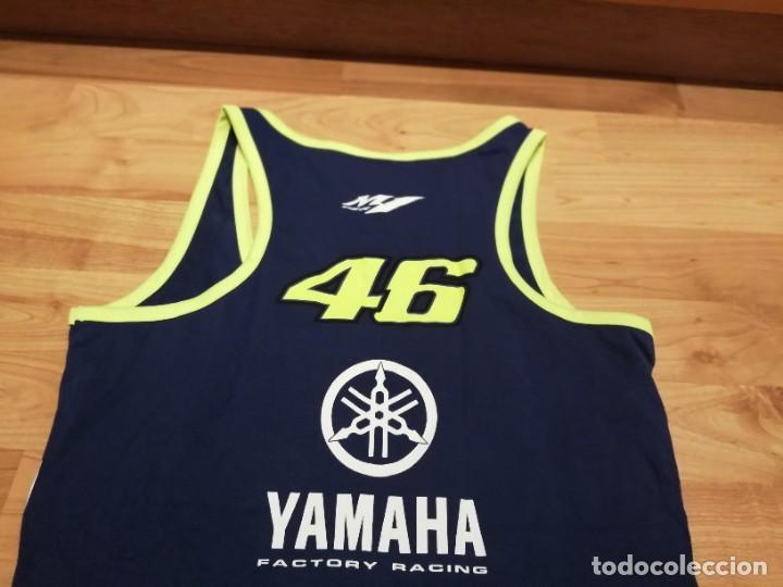 Vintage: Camiseta Yamaha Racing Team Valentino ROSSI 46 - Foto 9 - 278614508