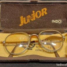 Vintage: ANTIGUAS GAFAS INDO MODELO JUNIOR EN SU FUNDA ORIGINAL / GRADUADAS.. Lote 278615843