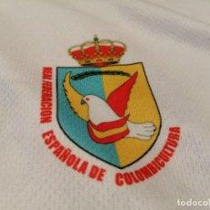 Vintage: CAMISETA REAL FEDERACIÓN ESPAÑOLA DE COLOMBICULTURA (EXCLUSIVA MUNDIAL TC). Lote 283403648
