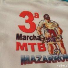 Vintage: MAILLOT CICLISMO CORTAVIENTOS MANGA LARGA 3 MARCHA MTB MAZARRÓN. Lote 283455978