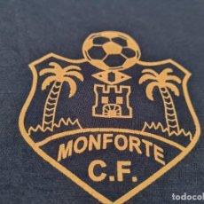 Vintage: MONFORTE CF. CAMISETA VINTAGE PLAYER ISSUE. Lote 284468313