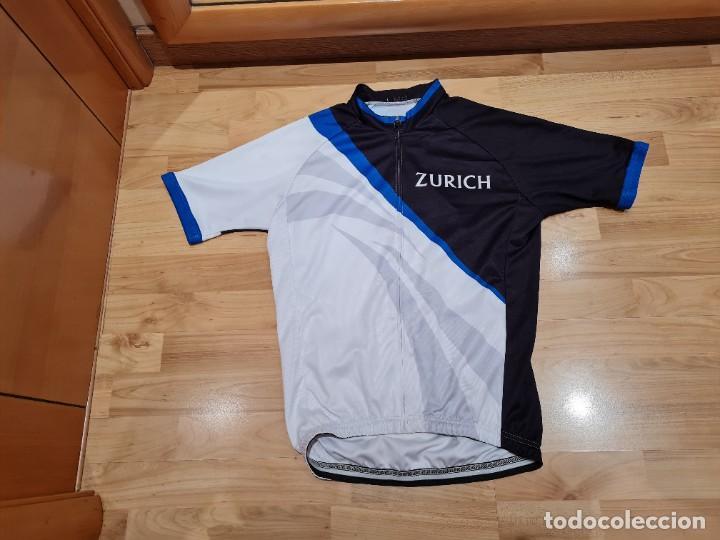 Vintage: Maillot Ciclismo Zurich Seguros vintage - Foto 2 - 284487053