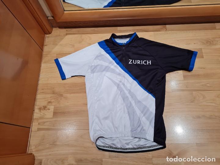 Vintage: Maillot Ciclismo Zurich Seguros vintage - Foto 4 - 284487053