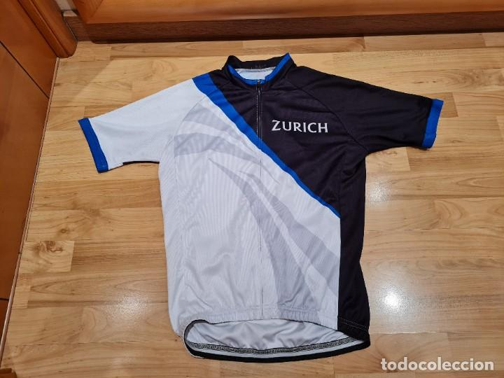 Vintage: Maillot Ciclismo Zurich Seguros vintage - Foto 5 - 284487053