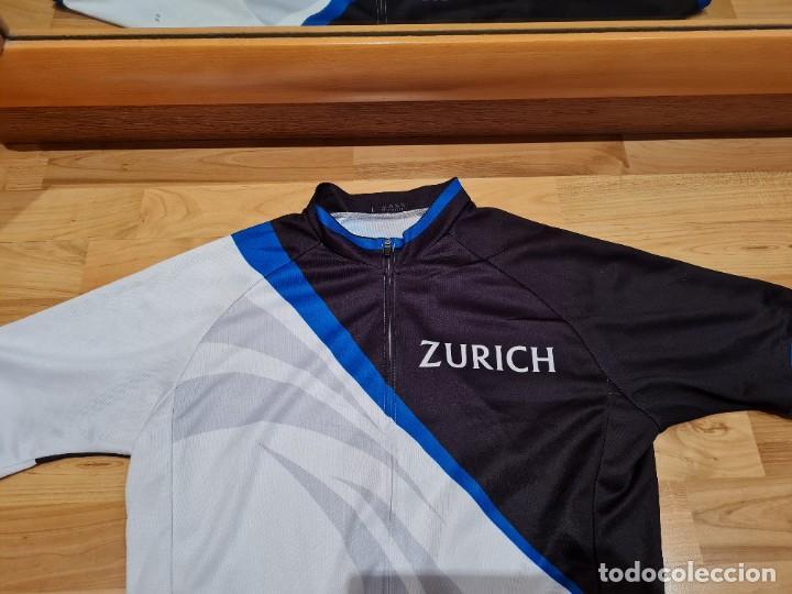 Vintage: Maillot Ciclismo Zurich Seguros vintage - Foto 6 - 284487053
