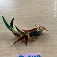 Vintage: ANTIGUO BROCHE DE PÁJARO. Lote 286208438