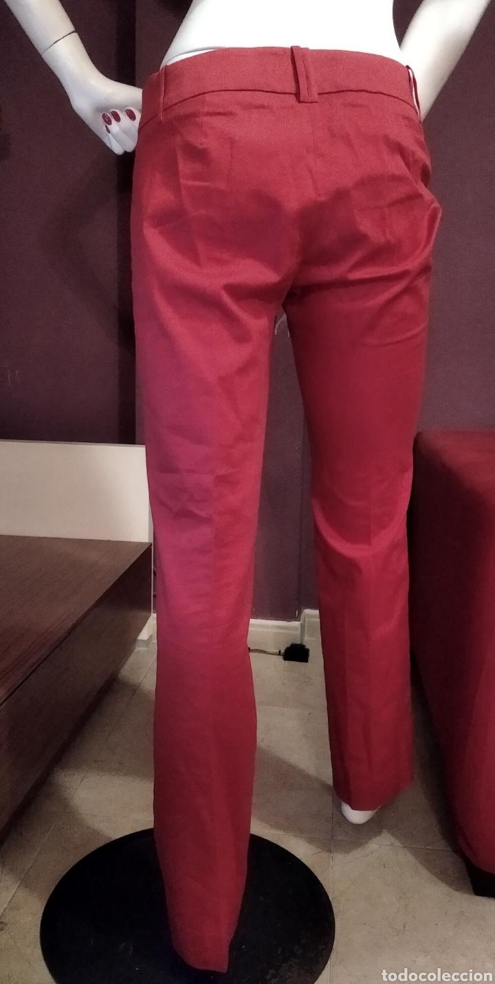 Vintage: Pantalón Zara básic 38 rojo - Foto 3 - 293671458