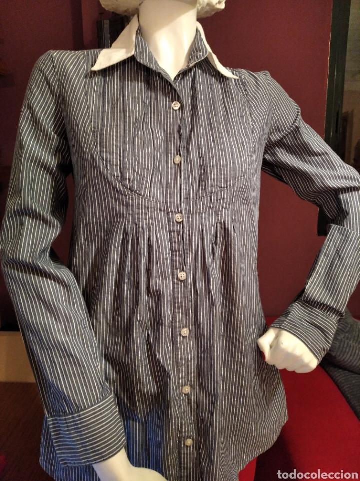 Vintage: Camisa Bershka talla M - Foto 2 - 293673278