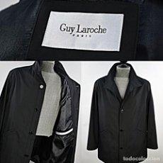 Vintage: GUY LAROCHE : CHAQUETÓN DE ABRIGO PARA HOMBRE MODELO PARIS WATERPROFF GENUÍNO - NUEVO / VER FOTOS. Lote 293798148