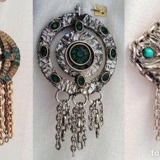 Vintage: COLGANTES DE FANTASIA. Lote 294556868
