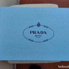 Vintage: CAJA PRADA,COLOR AZUL BEBÉ. Lote 297232093