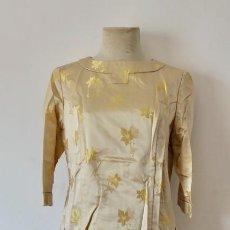 Vintage: ELEGANTE CONJUNTO ORIENTAL EN SEDA-MARK DYNASTY HONG KONG -TALLA 12/40. Lote 297264858