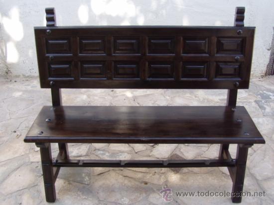 banco castellano - Comprar Muebles vintage en todocoleccion - 28228596