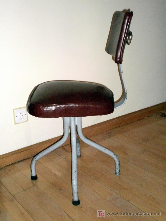 Silla oficina a os 40 mobiliario industrial vin comprar for Muebles de oficina vintage
