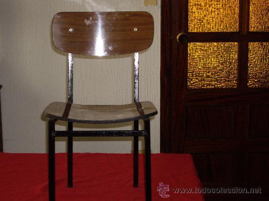 Lote de 3 sillas de ni o de formica a os 70 comprar - Sillas formica ...