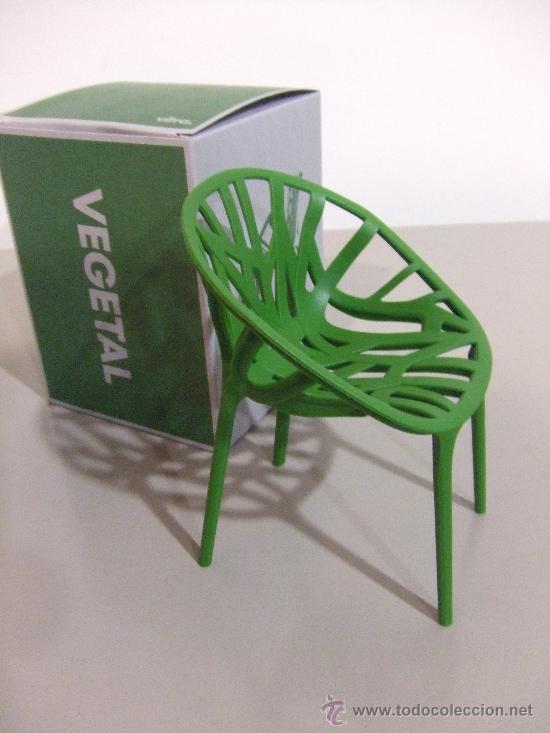 Miniatura silla vegetal de vitra comprar muebles vintage - Sillas vitra precios ...