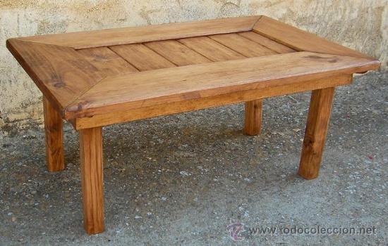 Mesa de centro de madera maciza mide 80 cm x 5 comprar for Mesa de centro madera maciza