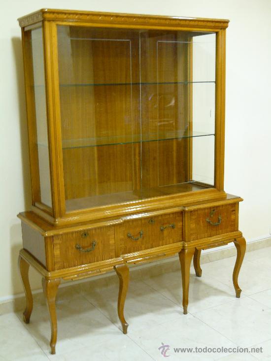 Aparador vitrina a os 50 comprar muebles vintage en for Aparador anos 50