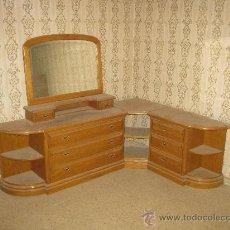 Vintage: COMODA TOCADOR RINCONERO, AÑOS 80 CON ESPEJO, . . Lote 29441702