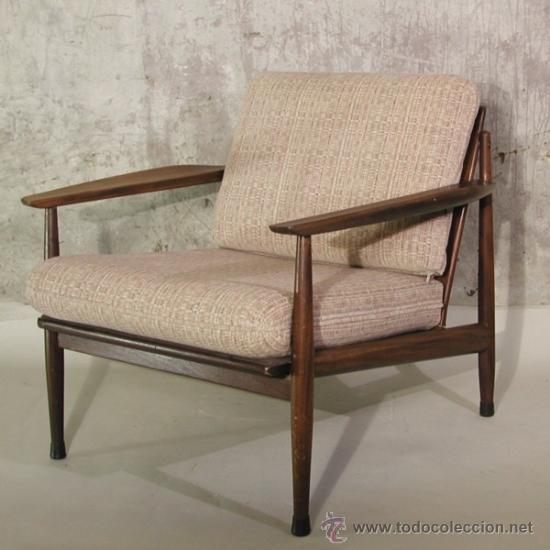 Silla con brazos de dise o escandinavo 1960 comprar for Muebles escandinavos online