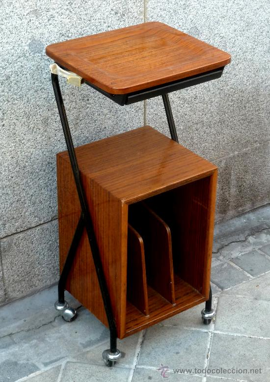 mesa mesita auxiliar telefonera retro vintage a comprar