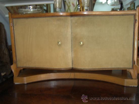 Mueble bar a os 50 en madera de cerezo y robl comprar - Mueble anos 50 ...