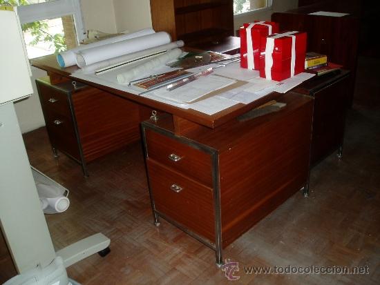 Mesa despacho dise o a os 60 comprar muebles vintage - Mesas despacho diseno ...