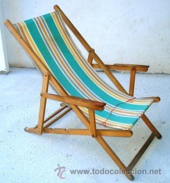 Hamaca de madera de haya al natural para restau comprar muebles vintage en todocoleccion - Muebles al natural ...