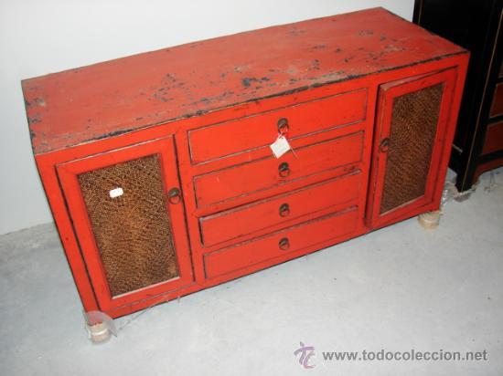Mueble aparador rustico de madera comprar muebles - Muebles online vintage ...