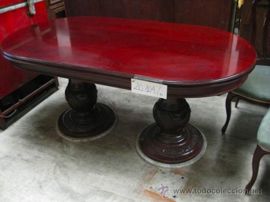 conjunto de mesa y 6 sillas de comedor. mesa de - Comprar Muebles ...