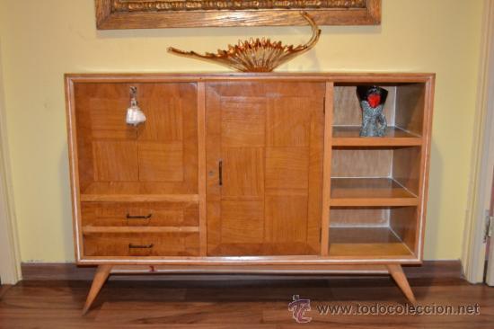 Mueble bar a os 60 comprar muebles vintage en todocoleccion 34638625 - Muebles anos 60 ...