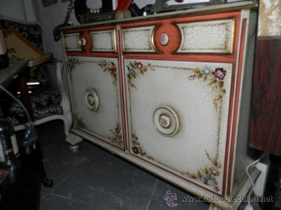 Mueble aparador recibidor taquillon retro vinta comprar for Mueble recibidor vintage