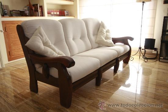 Sofas roble macizo comprar muebles vintage en for Muebles de sofa