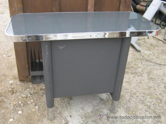 Mesa auxiliar de oficina a os 50 sistemas af comprar for Muebles de oficina vintage