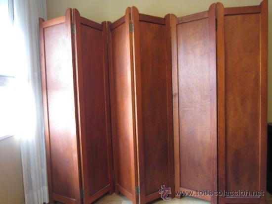 Biombo de madera comprar muebles vintage en - Biombos de madera ...